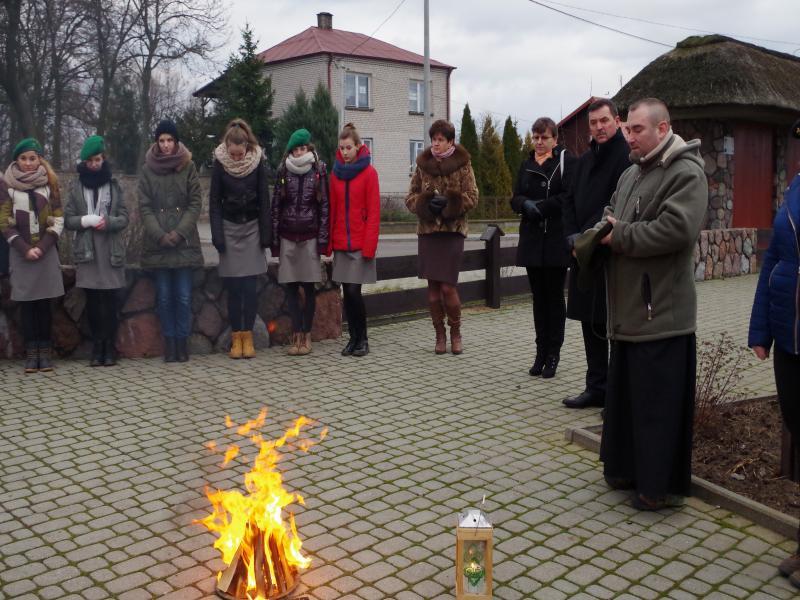 BETLEJEMSKIE ŚWIATEŁKO POKOJU (2014-12-21) - dh. Krzysztof i Paweł