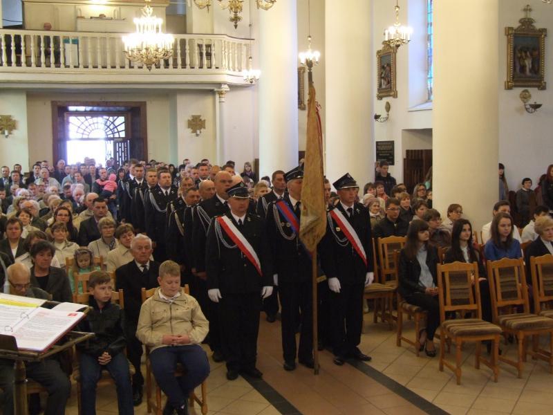 Msza w intencji strażaków - wspomnienie św. Floriana (2015-05-03) - A. Wejda