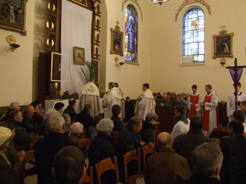 Wielki Czwartek - Msza wieczerzy Pańskiej (2012-04-05) - Ł. A. Wejda