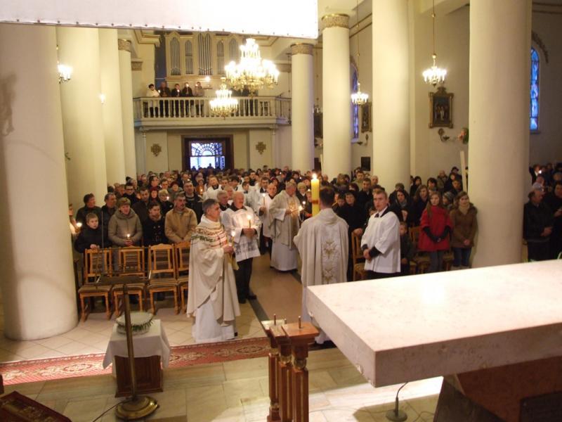 Wielka Sobota - wigilia paschalna (2012-04-07) - Ł. A. Wejda
