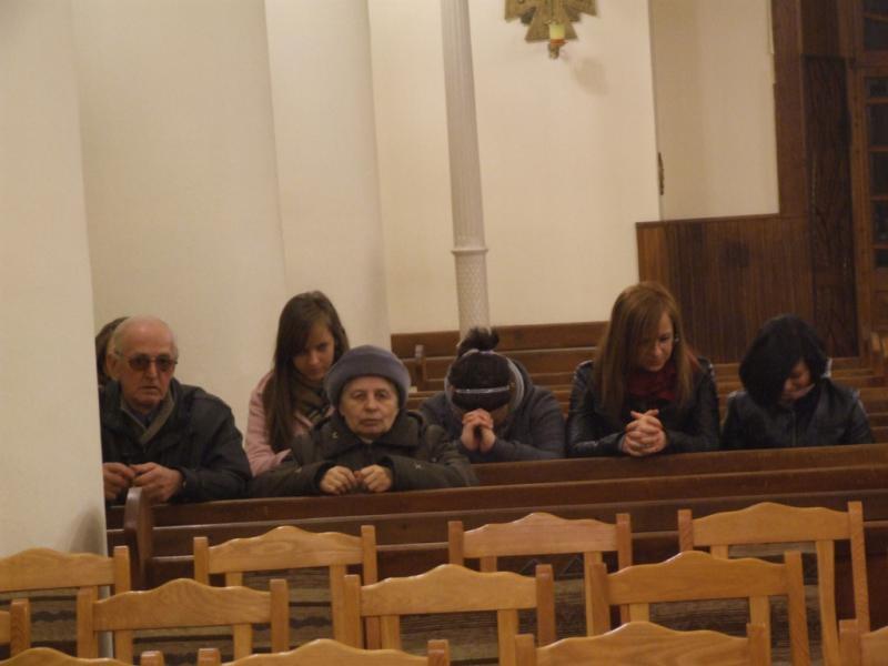 Wielka Sobota - całonocna adoracja Najświętszego Sakramentu (2012-04-07) - Ł. A. Wejda