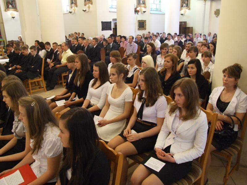 Wizytacja kanoniczna - bierzmowanie - (2012-04-30) - Ł. A. Wejda