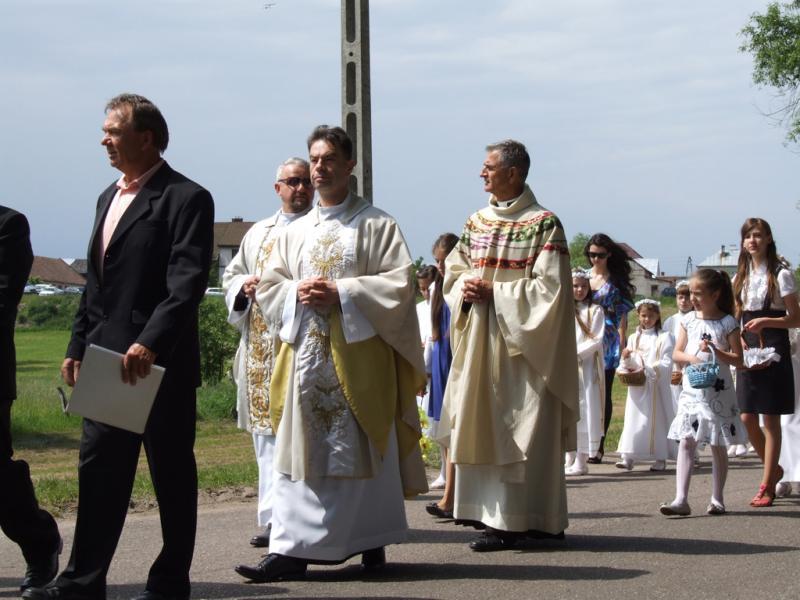 Uroczystość Najświętszego Ciała i Krwi Chrystusa - (2012-06-07) - Ł. A. Wejda