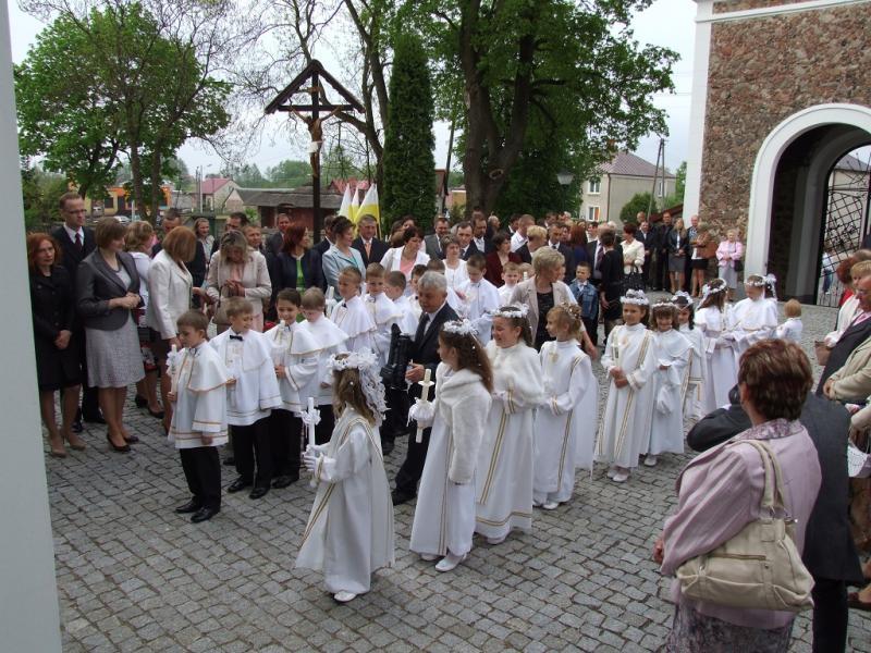 Uroczystość I Komunii Świętej (2013-05-12) - Ł. A. Wejda