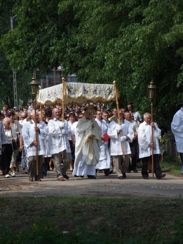 Uroczystość Najświętszej Ciała i Krwi Chrystusa (2013-05-30) - Ł. A. Wejda