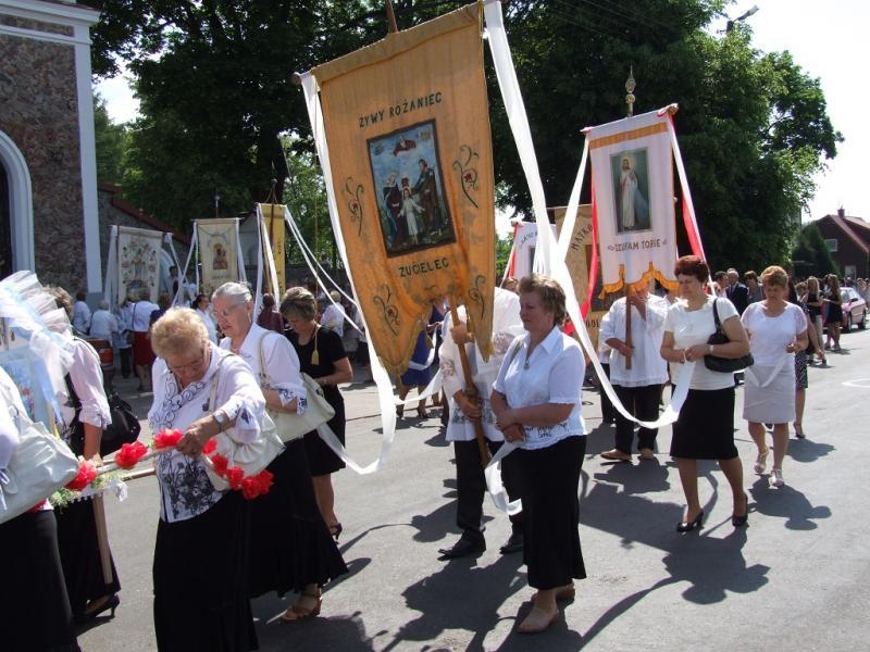 Uroczystość Najświętszej Ciała i Krwi Chrystusa (2013-05-30) - Ł. A.Wejda