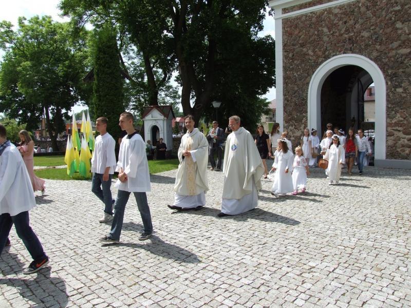 Ks. Mirosław (po lewej), Ks. Marek - Ł. A. Wejda