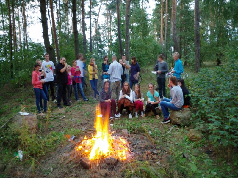 Pierwsze ognisko (2013-08-31) - ks. Sebestian