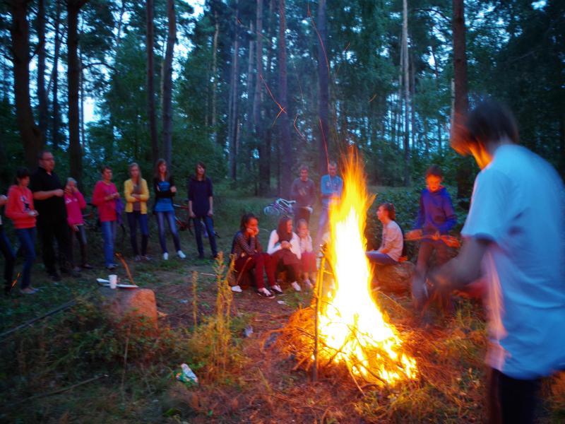 Pierwsze ognisko (2013-08-31) - ks. Sebastian