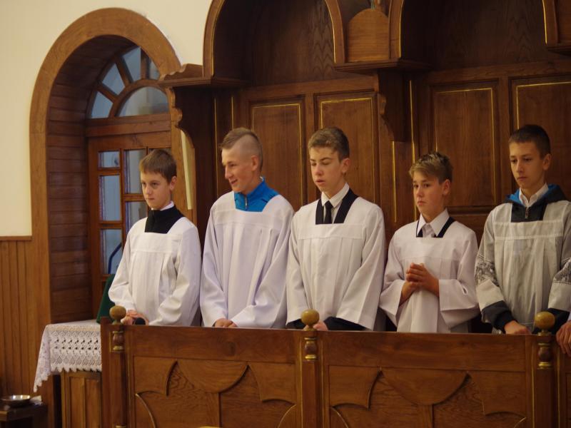 Msza Św. na rozpoczęcie roku szkolnego 2013 (2013-09-01) - x.IJ