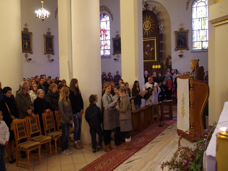 Msza Harcerska (2013-10-27) - ks. Sebastian