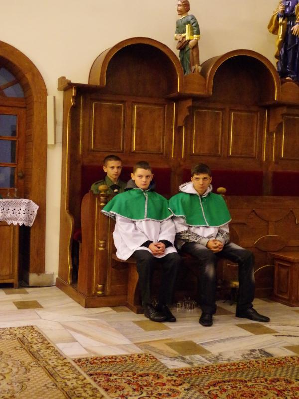 Św. HUBERT PATRON MYŚLIWYCH I LEŚNIKÓW (2013-11-03) - ks. Sebastian