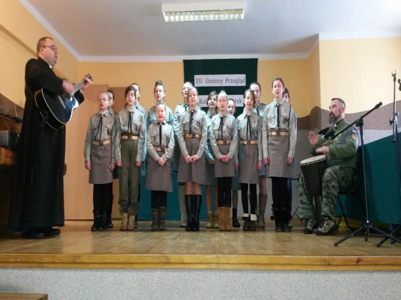 Przegląd Kolęd (2014-01-17) - dh. Monika i dh. Tłinki