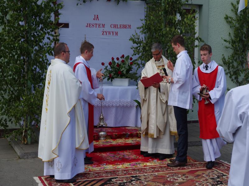 BOŻE CIAŁO (2014-06-26) - dh.Łukasz i dh.Krzysiek